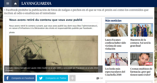 captura de la Vanguardia