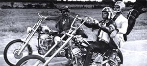 "Peter Fonda, Dennis Hopper y Jack Nicholson en ""Easy Rider"": ¡Born to be Wiiiiiild!"