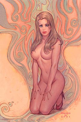 Pin Up de Joe Chiodo