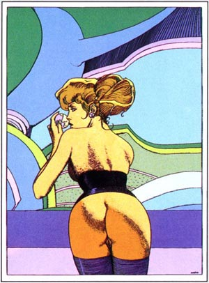 Pin Up de Moebius